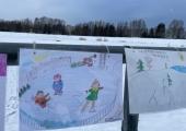 Õismäe tiigi ääres avati laste joonistustest veeohutuse teemaline näitus