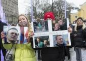 GALERII! Tallinnas toimus meeleavaldus Navalnõi toetuseks