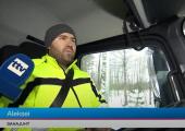 VIDEO! Mõnel juhul tuleb sahamehel öösel lund koristada
