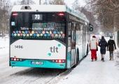VIDEO! Buss nr 73 hakkab sõitma Kopli liinideni