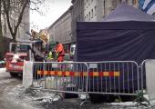 VIDEO! Roosikrantsi tänaval algasid uuesti väljakaevamised