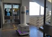 VIDEO! Baltikumi esimene desinfektsioonirobot puhastab LTKH-s Covid-osakondi