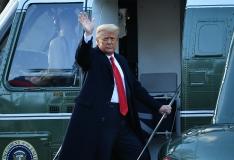 Trump lahkus Valgest Majast
