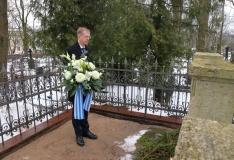 Tallinn tähistas Jaan Poska 155. sünniaastapäeva