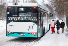 Buss nr 73 hakkab sõitma Kopli liinideni