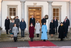 FOTOD! President tunnustas kiireid koalitsiooniläbirääkimisi