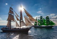 Tallinnas toimuv purjelaevade regatt võitleb mere konireostuse vastu