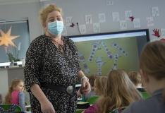 Vaktsineeritud õpetaja: Tahan kaitsta  nii ennast  kui ka teisi