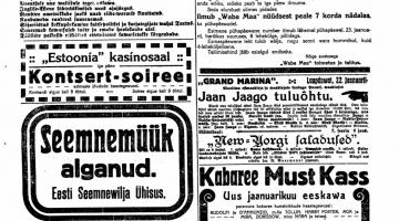 100 aastat tagasi: raudtee läbi Kadrioru, toiduhindade langus, maailmalõpp ja linna kiuslik keeluseadus