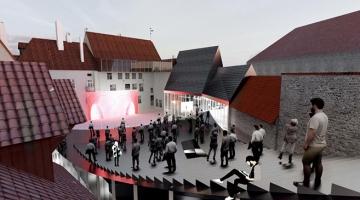 SAJANDI EHITUS: Linnateatri uuendamine ühendab moodsa ja kadunud aegade ilu