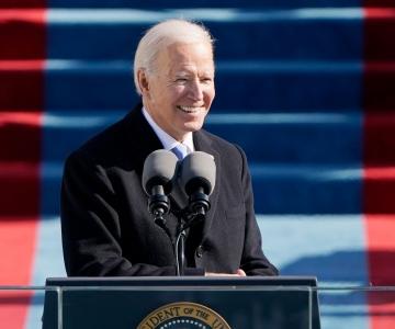 VIDEO! Biden ametivannutamise kõnes: see on demokraatia päev