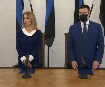 Video! Kallas koalitsioonileppe allkirjastamisel: kriis võib olla tuleviku väetis