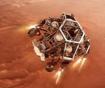 NASA kulgur Perseverance maandus Marsil