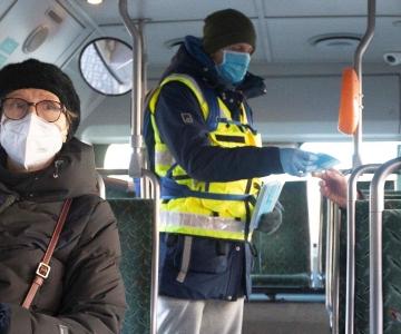 VIDEO! Laboriarst: mask pakub linna ühissõidukeis viirusekaitset eriti tipptundidel