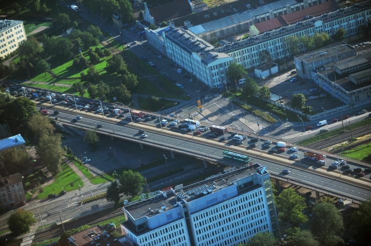 Järgmisel nädala algab Pärnu maantee viadukti remont