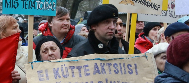 GALERII: Viktor Vassiljev: Protestisime valetava valitsuse vastu