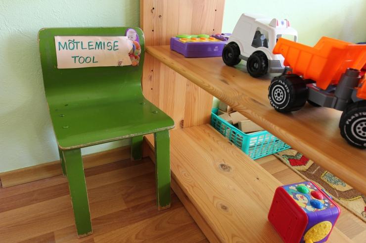 Terviseamet: Salme lasteaia mööbel ei vasta nõuetele