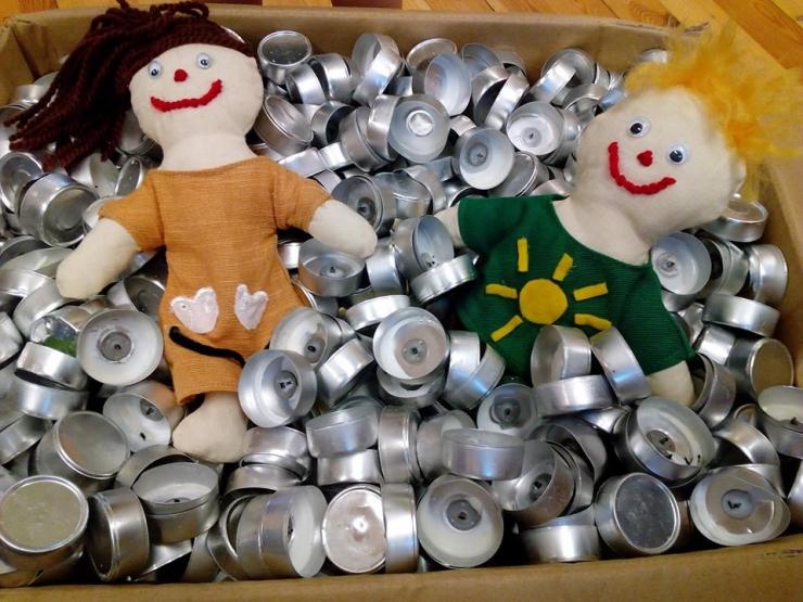 Üle 20 000 lapse üle Eesti kogus küünlaümbriseid  ja vanu patareisid