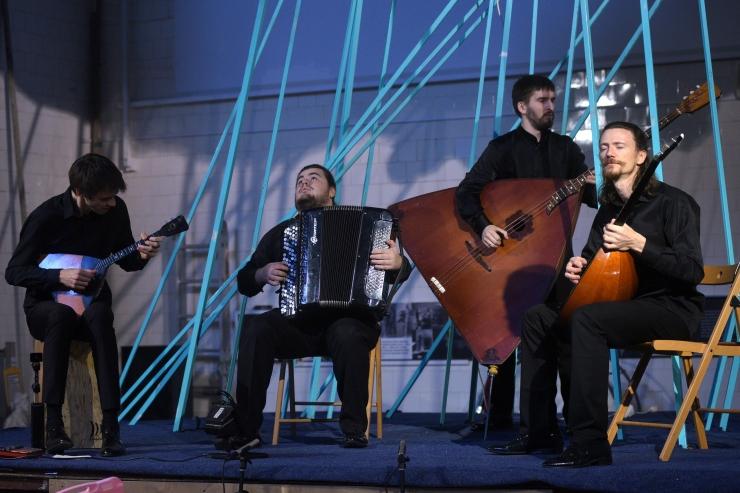 TAFF Club toob jazzmuusika vene rahvapillidel otse Peterburist