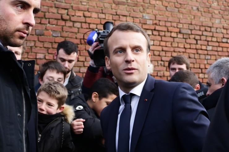 Macron: Calais ei ole tagauks Suurbritanniasse