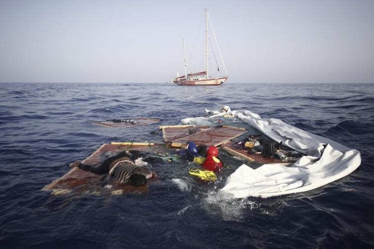 Liibüa rannavalve on tänavu merest välja toonud 100 surnud migranti