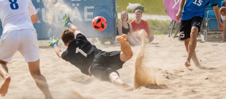 Uues spordihallis kestab soe suvi aasta ringi