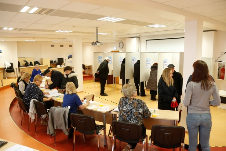 Tallinna valijatest on hääletamas käinud ligi 60%