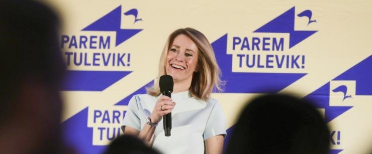 Riigikogu valimised võitnud Kaja Kallas: saime tohutult tugeva mandaadi