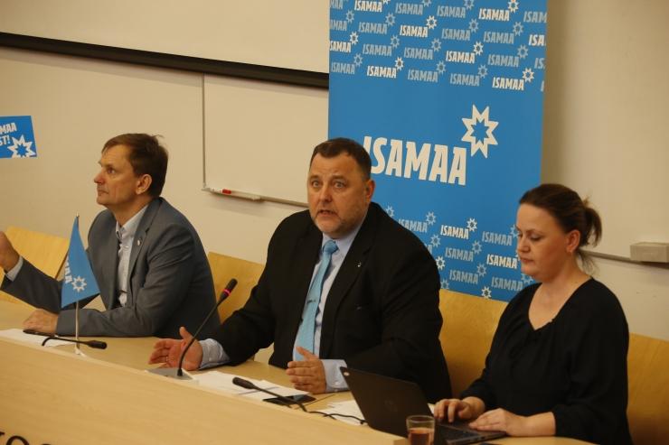 GALERII: Isamaa europarlamendi valimiste programmis on kesksel kohal Eesti rahvuslikud huvid