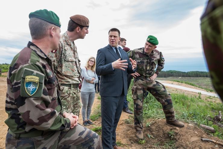 Ratas tunnustas Eestis teenivaid Prantsuse sõdureid liitlaskoostöö eest