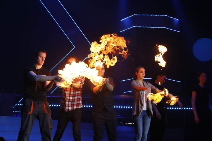 PILDID JA VIDEO! Rakett 69 vilistlased toovad Saku Suurhalli lavale Euroopa suurima teadusshow
