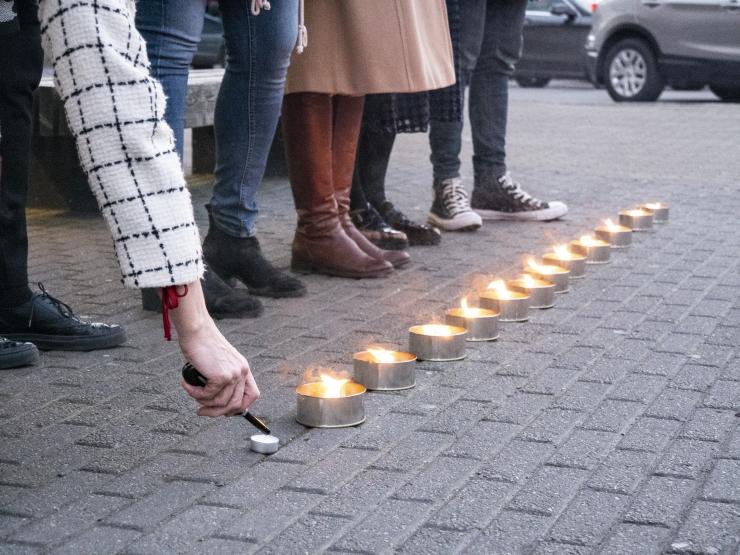 Marianne Mikko: seisame küünaldega vägivalla vastu
