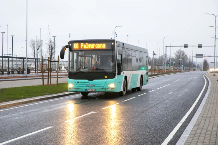 VIDEO! Uus bussiliin nr 66 osutus ootamatult menukaks