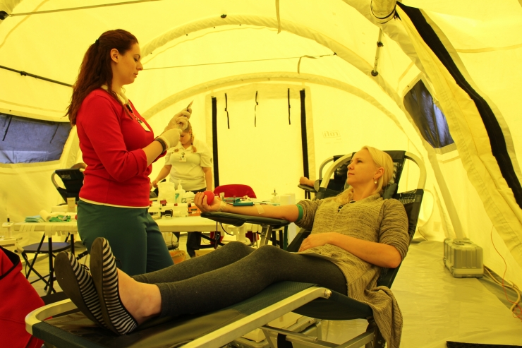 Meditsiinitudengid kutsuvad kõiki soovijaid verd loovutama