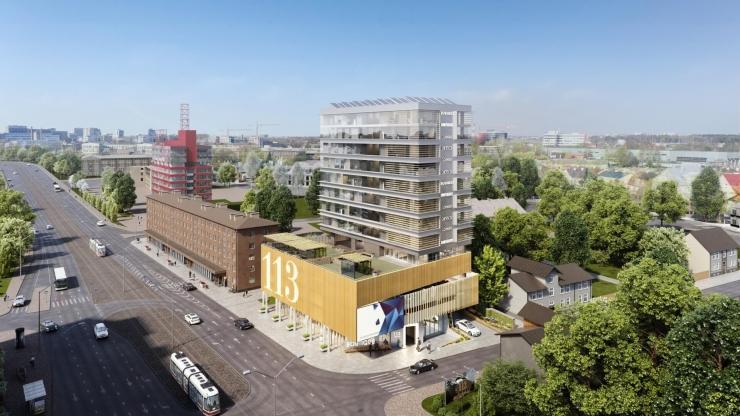 Tallinn väljastas unikaalsele rohekõrghoonele ehitusloa
