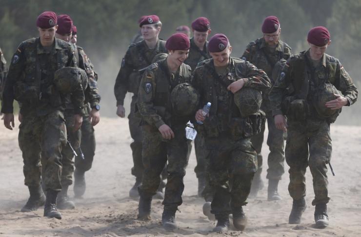 USA armee Euroopa bänd esineb Eestis