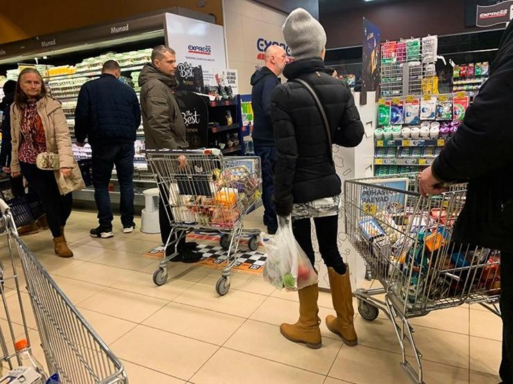 SIRJE POTISEPP: Eestis nälga ei ole  ja kaupa jätkub