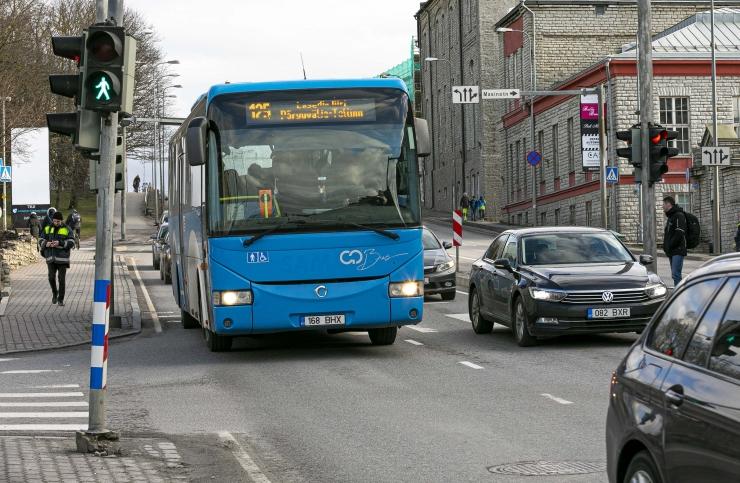 Bussiga reisijate arv on kukkunud üle 80 protsendi