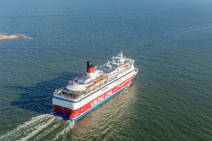 Viking Line teeb aprilli lõpuni Soome kaubavedusid kaks korda päevas