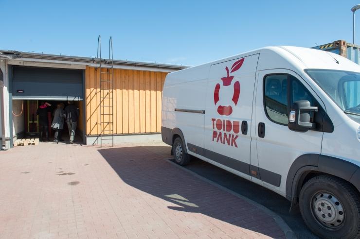 Toidupanga toetamise projekt käivitus 25 000-eurose algkapitaliga
