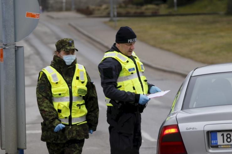 Läti politsei: Valkas on näha sama palju eestlasi kui enne kriisi
