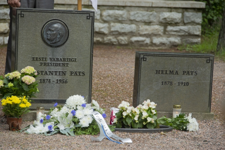 FOTOD JA VIDEO! Metsakalmistul mälestati president Pätsi küüditamist