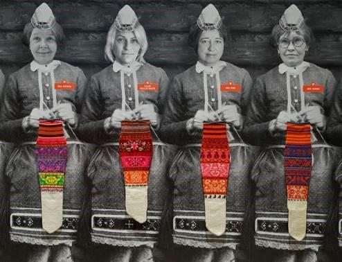 ERM avab maailma suurima Muhu sukkade näituse