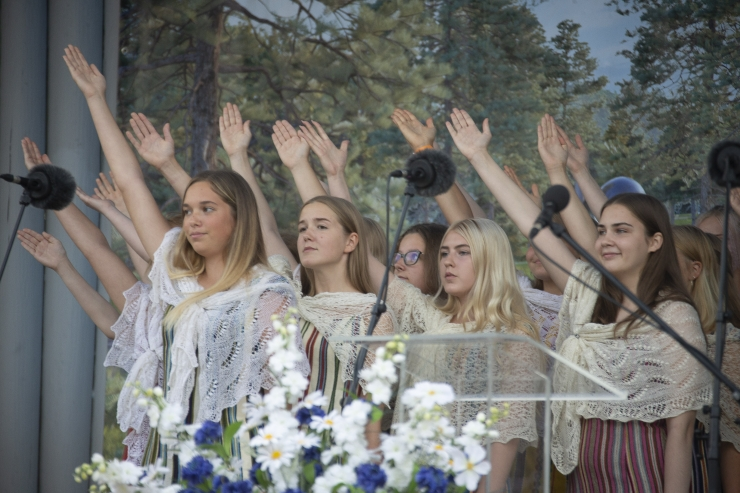 VIDEO JA PILDID! Männi pargis tähistati taasiseseisvumise aastapäeva Georg Otsa kontsertetendusega