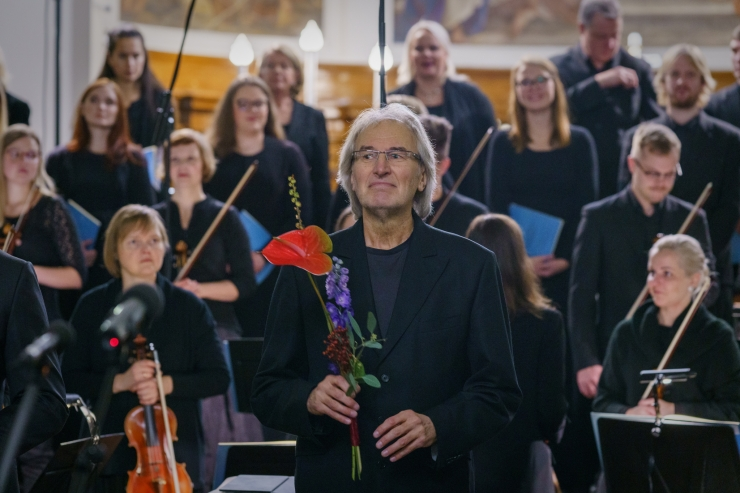 """FOTOD: Hingedeööl kõlas Tallinna Kaarli kirikus Mozarti """"Requiem"""""""