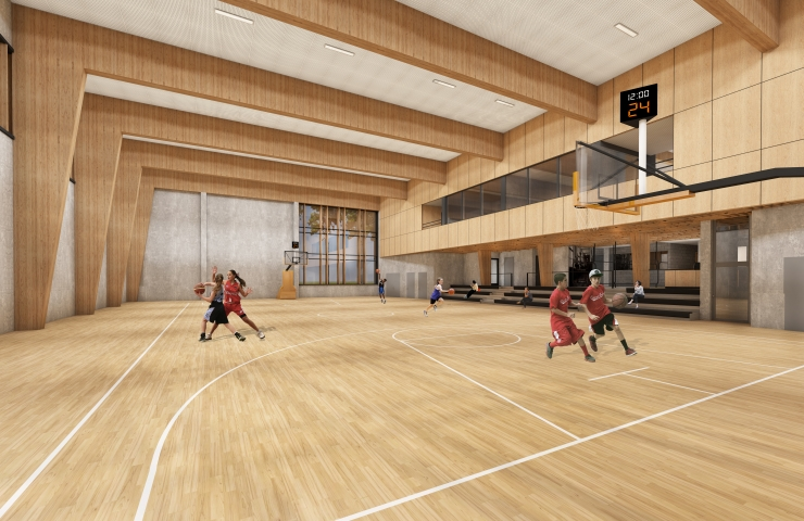 PILDID! Tallinna Nõmme Gümnaasiumi spordihoone valmib tuleval aastal