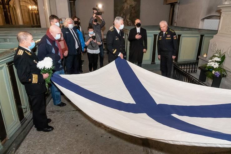 VIDEO JA FOTOD! Täna tähistati admiral Krusensterni 250. sünniaastapäeva