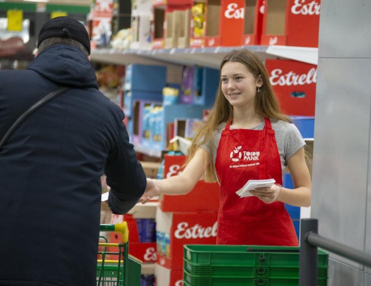 Toidupank kutsub jõuluootuses meeles pidama abivajajaid