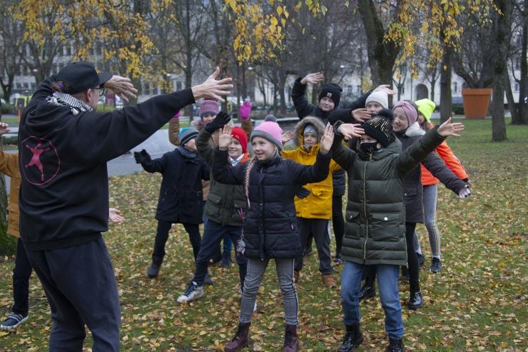 VIDEO JA FOTOD! Märt Agu: kõik vajavad liigutamist