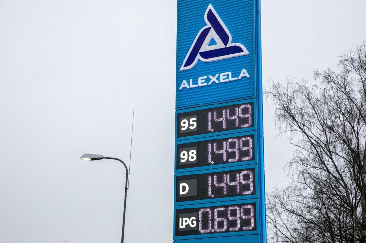 Tallinna kütusehinnad püsisid nädalatagusel tasemel